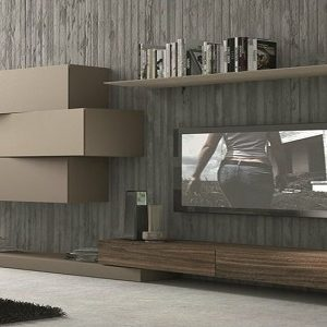 3D wallpaper Living room -4